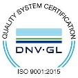 icon DNVGL-ISO9001 reduces